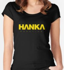 Hanka robotics, Japan Women's Fitted Scoop T-Shirt