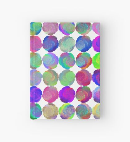 Space snowballs #fractal art Hardcover Journal