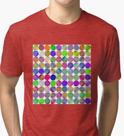 Space snowballs #fractal art Tri-blend T-Shirt