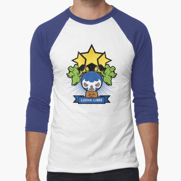 Lucha Libre Baseball ¾ Sleeve T-Shirt