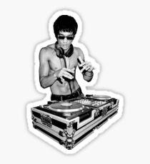 DJ Kung Fu Sticker