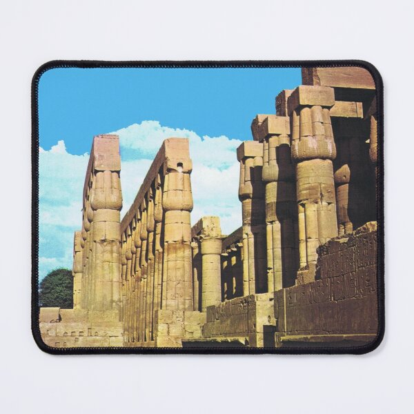Courtyard of Amenophis III in Luxor Temple Mouse Pad
