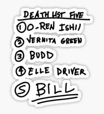 List Sticker