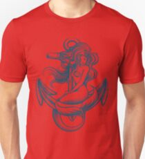 Mermaid on the Anchor T-Shirt