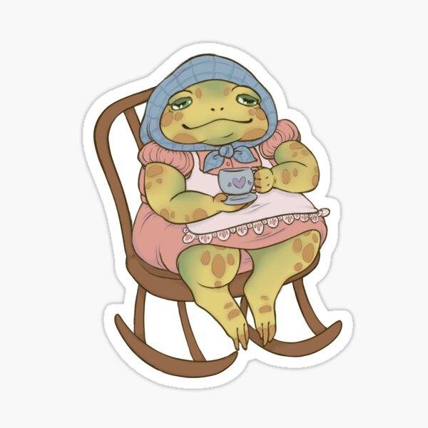 Frog grandma Sticker