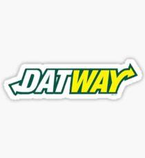 Pegatina DatWay Calcomanías