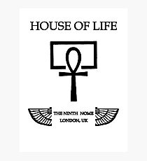 House of Life, London Nome Photographic Print