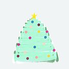 Painted Christmas Tree by lollylocket
