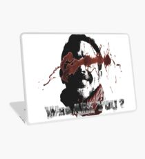 negan who are you Laptop Skin