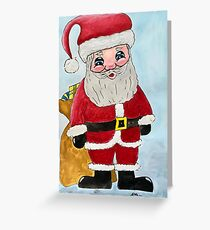 Father Claus Greeting Card