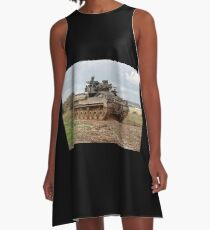 British Army Warrior Infantry Fighting Vehicle A-Line Dress