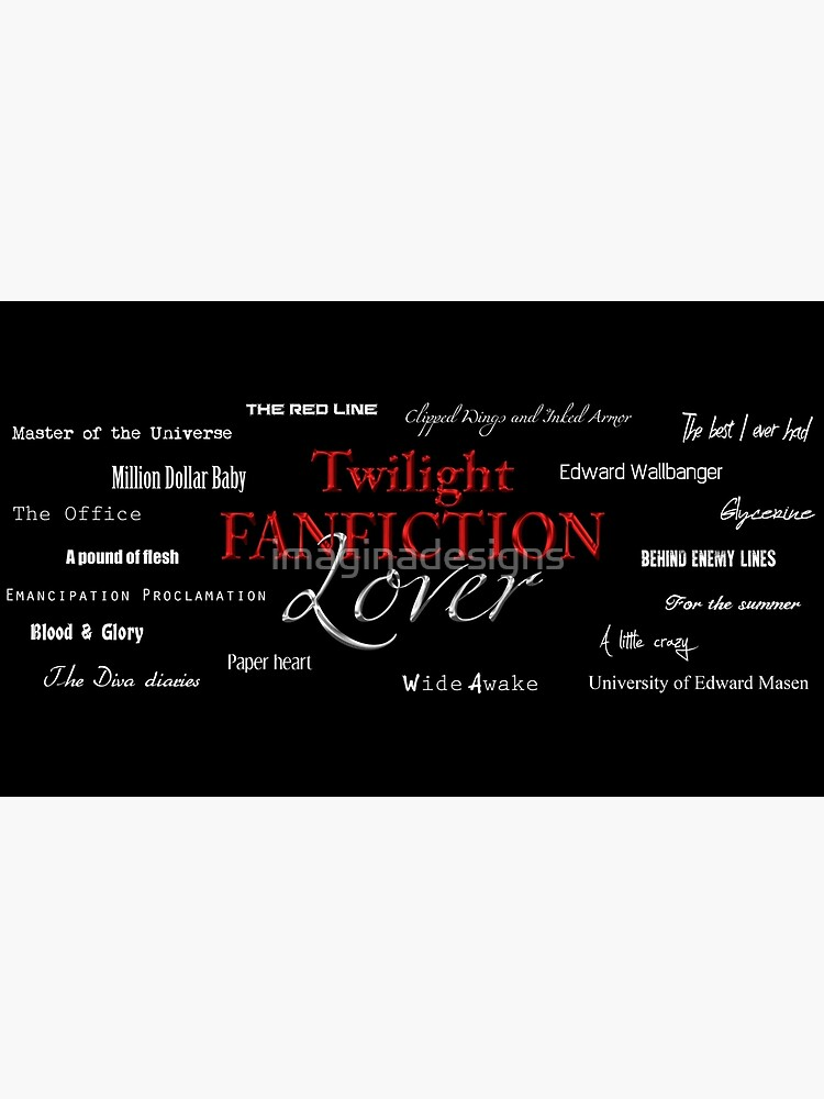 Twilight fanfiction lover de imaginadesigns