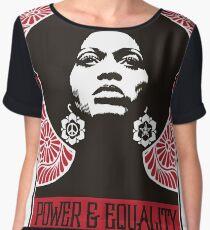 Power & Equality Chiffon Top