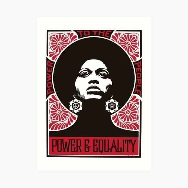 Power & Equality Art Print