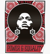Power & Equality Poster