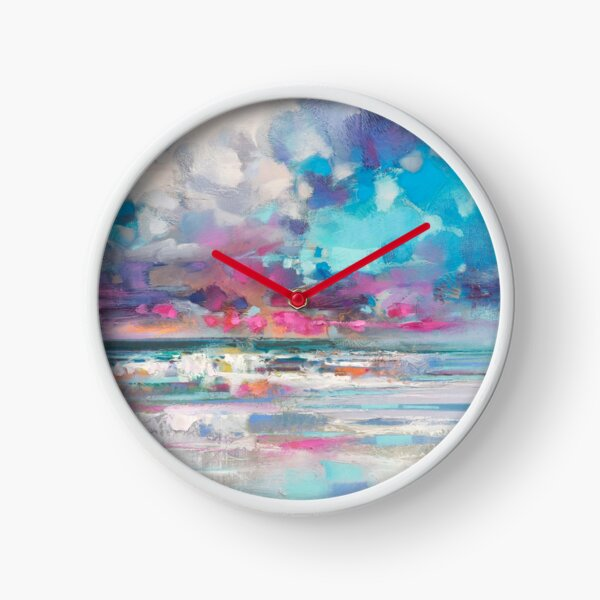 Atlantic Magenta Clock