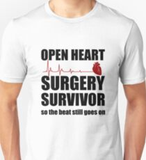 Open Heart Surgery Survivor Unisex T-Shirt