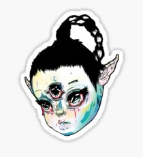 art angel Sticker