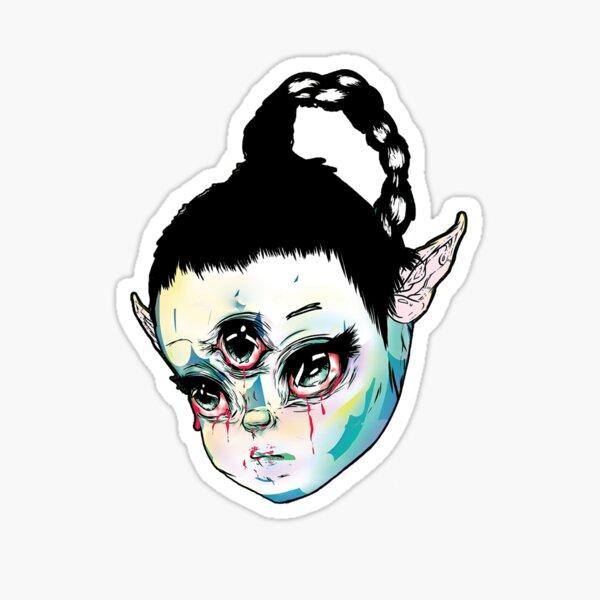 art angel Sticker