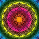 Rainbow Mandala 2 by WelshPixie