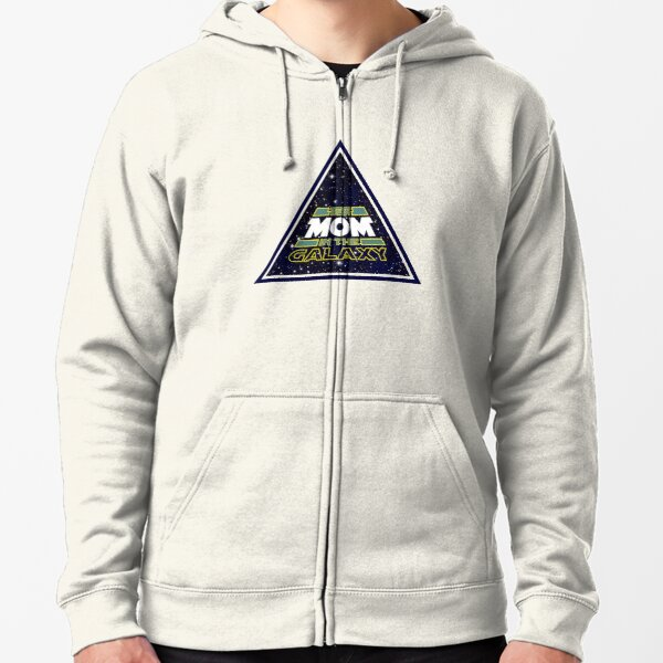 Amazing Mom Gift Best Mom In The Galaxy Zipped Hoodie