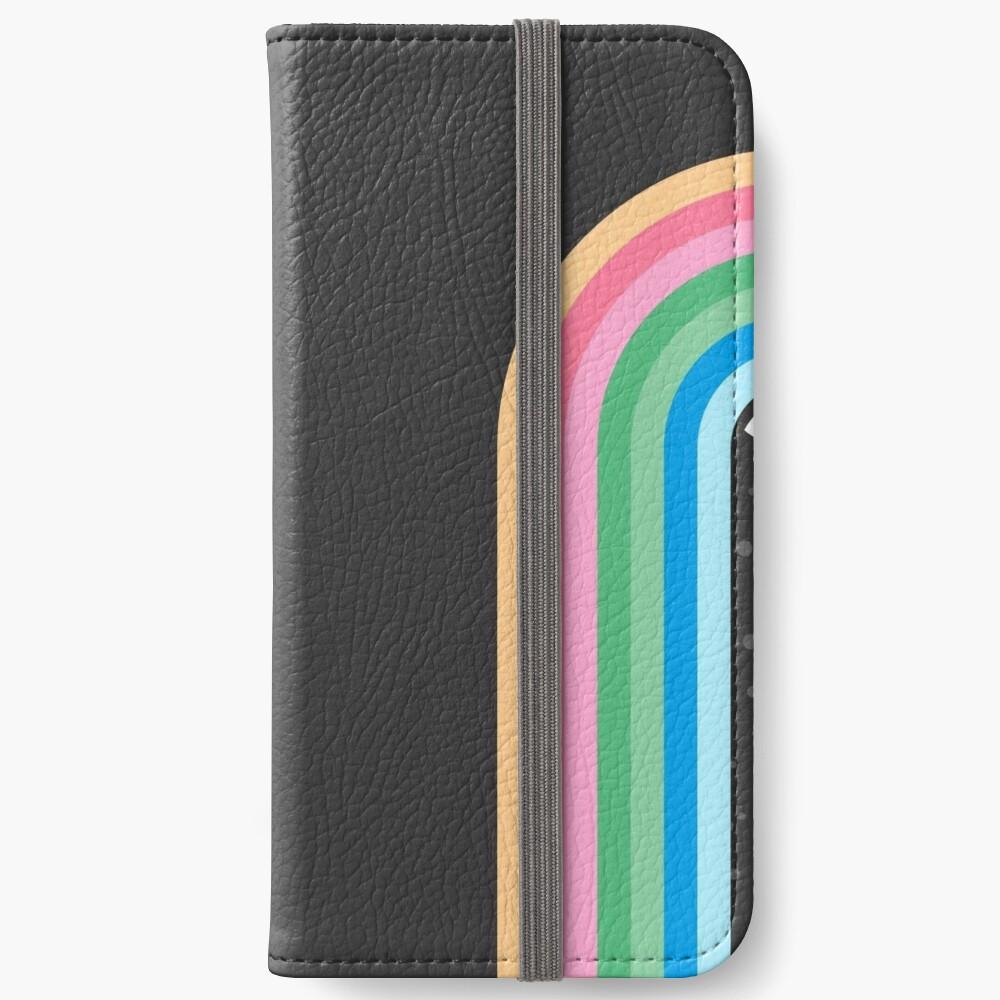 Galaxy Tränen iPhone Flip-Case