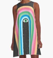 Galaxy Tears A-Line Dress