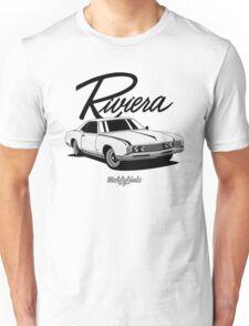 Buick Riviera (49487) '1966 (white) Unisex T-Shirt