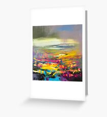 Luminance Study 1 Greeting Card