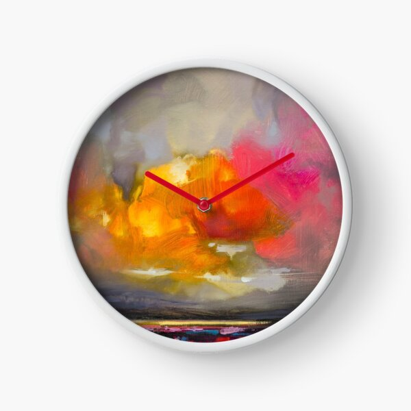 Cumulus Rose Study 2 Clock
