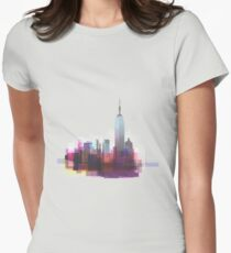 New york, NYC city ! Women's Fitted T-Shirt