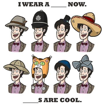 The Doctor in many Hats by taconaco