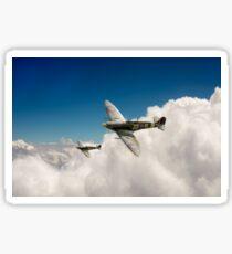 222 Squadron Spitfires Sticker