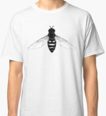 Flying Bee - insect illustration Classic T-Shirt