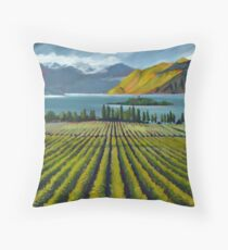 New Zealand #1 by artist Thomas Andrew Throw Pillow
