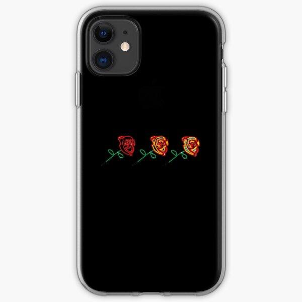 Three cute roses iPhone Soft Case