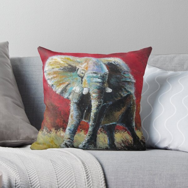 Feeling the Dynasty by Thomas Andrew Throw Pillow