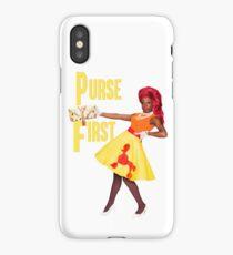PURSE FIRST iPhone Case/Skin