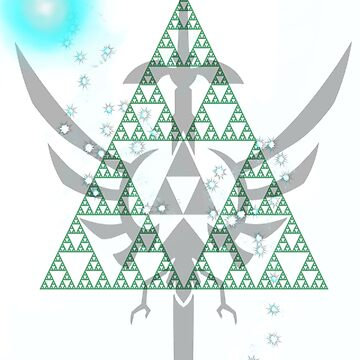 Navi triforce by Chimerasdoodle