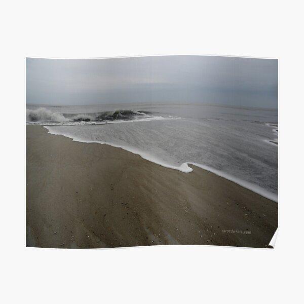 Winter Beach, Assateague Poster