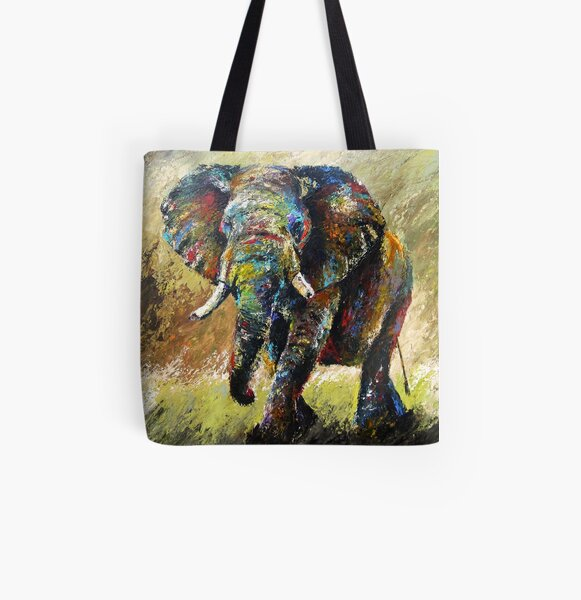The Charge by Thomas Andrew All Over Print Tote Bag