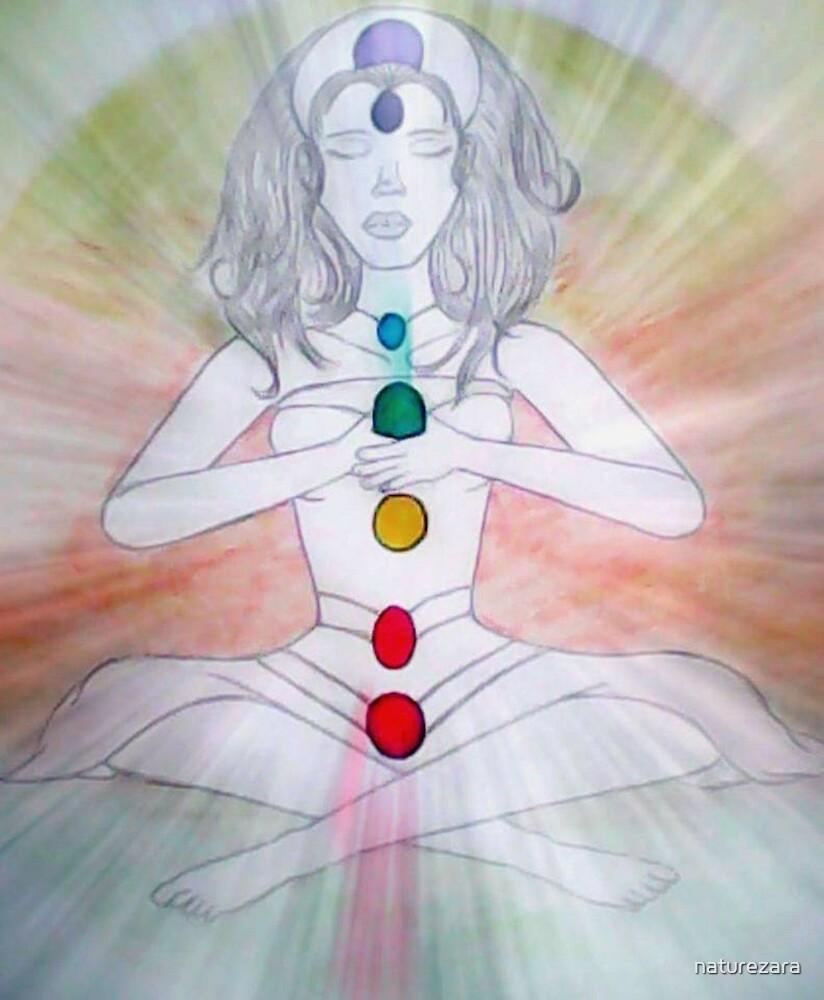 Chakra, Aura and meditation by naturezara