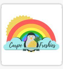 Carpe Freshies! Sticker