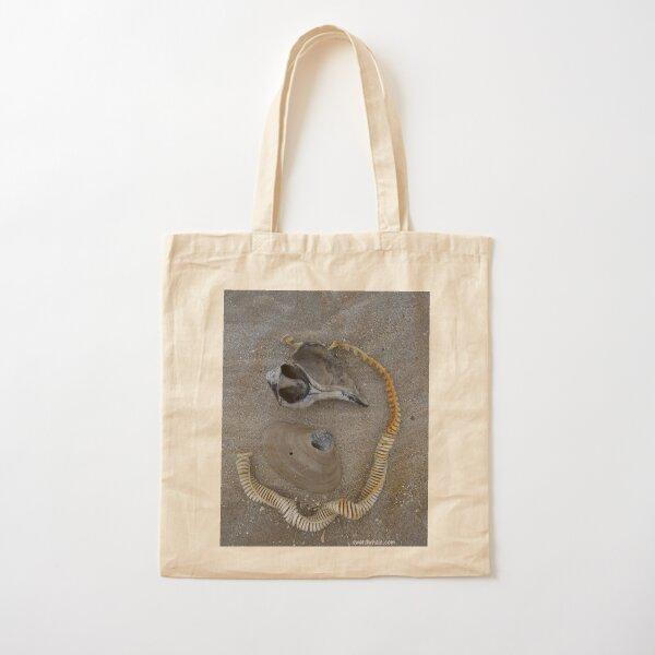 winter shells Cotton Tote Bag