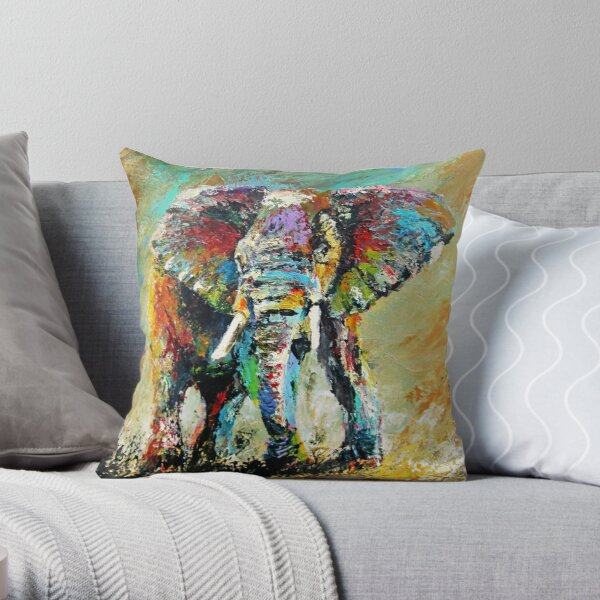 A Powerful Force by Thomas Andrew Throw Pillow