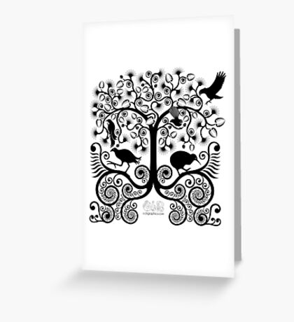 NZ Native Birds Greeting Card