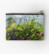 Yellow Annuals Studio Pouch