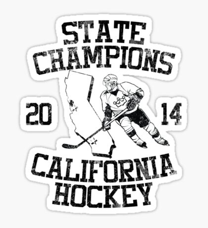 State Champs - Version 2 Vintage Sticker