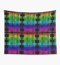 Another Dimension (neon) Wall Tapestry