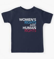 Womens Rights are Human Rights Kids Tee